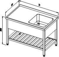 waschtischs mit 1 sp lbecken und gitterbord ms 13 1 zl 13 1 bl. Black Bedroom Furniture Sets. Home Design Ideas